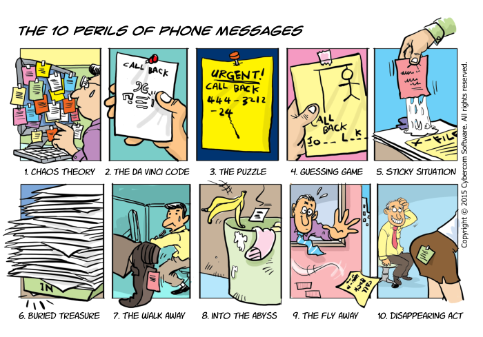 The 10 Perils of Phone Messages.
