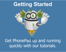Get started with PhonePad quickly with our video tutorials.