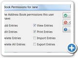 User AddressBook Permissions