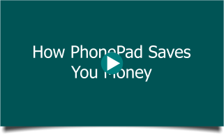 How You Save Money with PhonePad