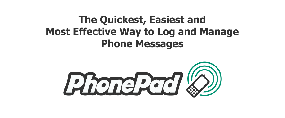 PhonePad Telephone Messaging System